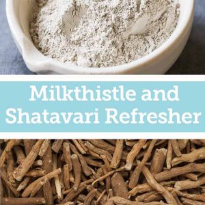 Baldwins Remedy Creator - Milkthistle and Shatavari Refresher