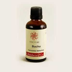 Baldwins Buchu (barosma Betulina) Herbal Tincture