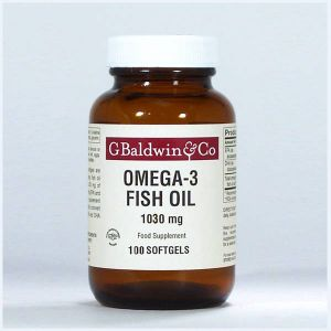 Baldwins Omega-3 Fish Oil Epa & Dha 1030mg