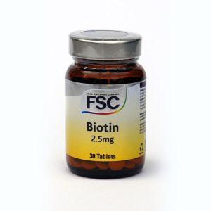 Fsc Biotin 2.5mg 30 Tabs