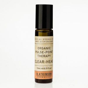 D. Atkinson Herbalist Organic Pulse Point Therapy Clear Head 10ml