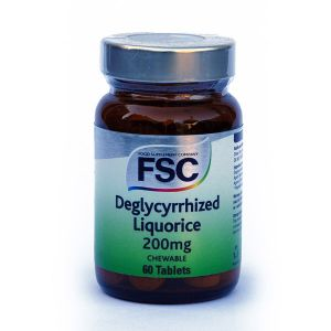 Fsc Deglycerrized Chewable Liquorice 60 Tablets