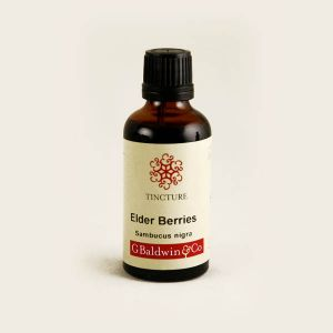 Baldwins Elderberry ( Sambucus Nigra ) Herbal Tincture