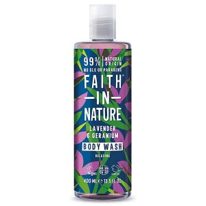 Faith In Nature Lavender And Geranium Bodywash 400ml