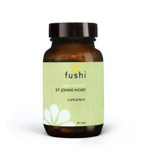 Fushi Organic Fresh Ground St John's Wort 60 Vegetarian Capsules