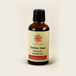 Baldwins Goldenseal  ( Hydrastis Canadensis ) Herbal Tincture
