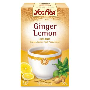 Yogi Ginger Lemon Organic Tea 17 Bags