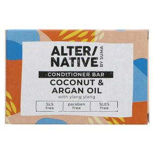 Alter/Native by Suma Coconut & Argan Conditioner Bar 90g