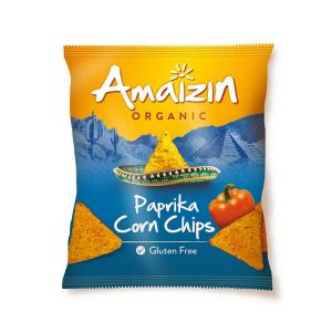 Amaizin Corn Chips Paprika 75g