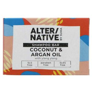 Alter/Native by Suma Coconut & Argan Shampoo Bar 90g