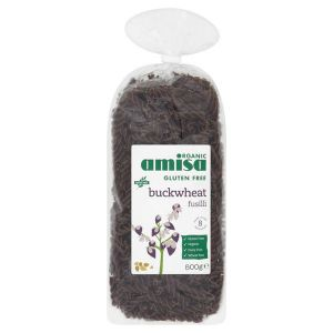 Amisa Organic Buckwheat Fusilli 500g