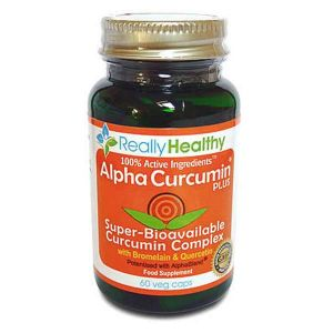 Alpha Curcumin Plus Super-Bioavailable Curcumin Complex 60 capsules
