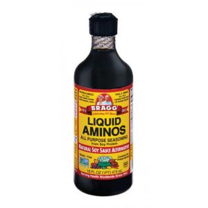 Bragg Aminos All Purpose Seasoning Natural Soy Sauce Alternative Gluten Free Contains No Preservatives 473ml