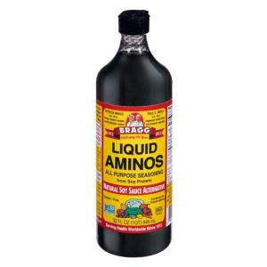 Bragg Aminos All Purpose Seasoning Natural Soy Sauce Alternative Gluten Free Contains No Preservatives 946ml