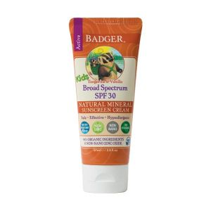 Badger Tangerine and Vanilla Kids Sunscreen SPF30 87ml