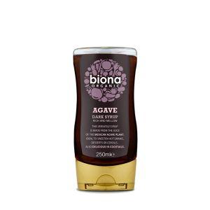 Biona Organic Dark Agave Syrup 250ml