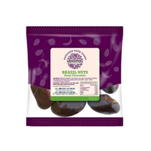 Biona Organic - Dark Chocolate Brazil Nuts 80g