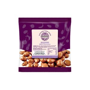 Biona Organic - Milk Chocolate Raisins 60g