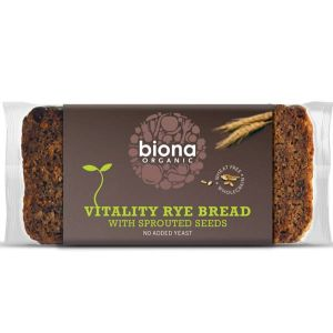 Biona Organic Vitality Sprouting Seed Mix Rye Bread 500g