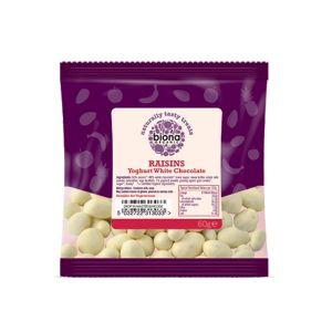 Biona Organic - Yoghurt White Chocolate Raisins 60g