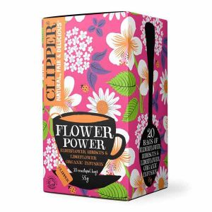 Clipper Flower Power Organic Infusion 20 Teabags