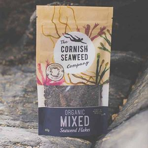 The Cornish Seaweed Company Organic Mixed Seaweed Flakes 60g