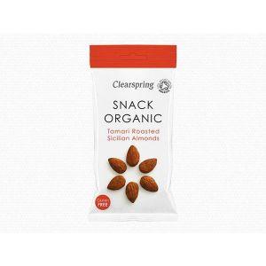 ClearSpring - Organic Snack Tamari Roasted Sicilian Almonds 30g
