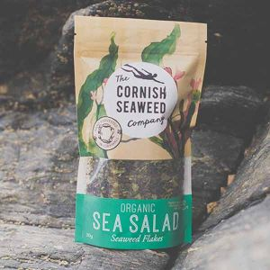 The Cornish Seaweed Company Organic Sea Salad Seaweed Flakes 30g