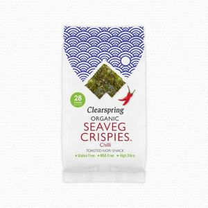 Clearspring Organic Seaveg Crispies Chilli 5g