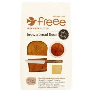 Doves Farm Gluten Free Brown Bread Flour 1kg
