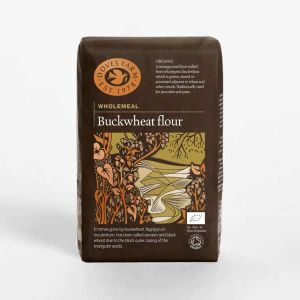 Doves Farm Organic Wholemeal Buckwheat Flour 1kg