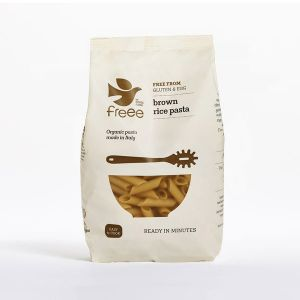 Doves Farm Organic Gluten-free Brown Rice Penne Pasta 500g