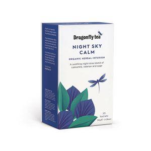 Dragonfly Tea Organic Night Sky Calm 20 Teabags