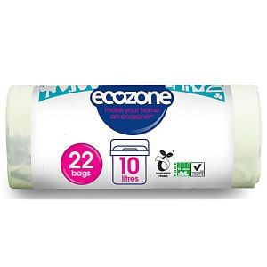 Ecozone Compostable caddy liners 22 100% biodegradable bags