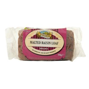 Everfresh Organic Malted Raisin Loaf 290g