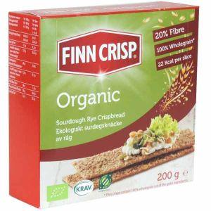 Finn Crisp Organic Rye Crispbread 200g