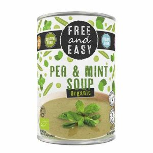 Free and Easy - Pea & Mint Soup (Organic) 400g