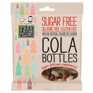 Free From Fellows Sugar free Vegan Cola Bottles 100g