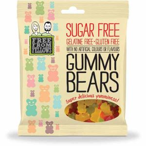 Free From Fellows Sugar free Vegan Gummy Bears 100g