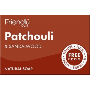 Friendly Soap Ltd. Natural Patchouli & Sandalwood 95g