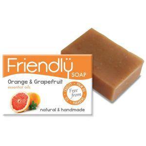 Friendly Soap Ltd. Orange & Grapefruit Soap 95g