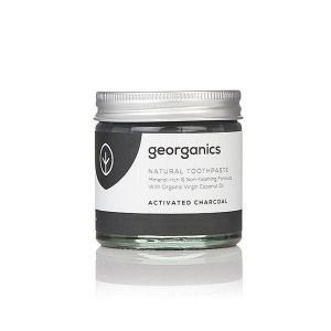 Georganics Activated Charcoal Natural Toothpaste 60ml