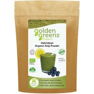 Golden Greens Organic Hebridean Kelp Powder 100g