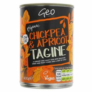 Geo Organics Organic Chickpea and Apricot Tagine 400g