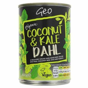 Geo Organics Organic Coconut and Kale Dahl 400g