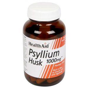 Health Aid Psyllium Husk 1000mg 60 capsules