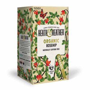 Heath And Heather Organic Rosehip 20 Tea Bags