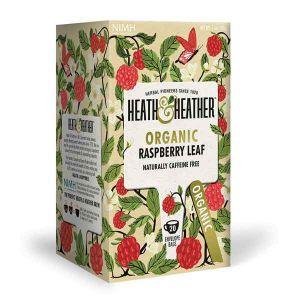 Heath And Heather Organic Raspberry Leaf Tea 20 Tea Bags