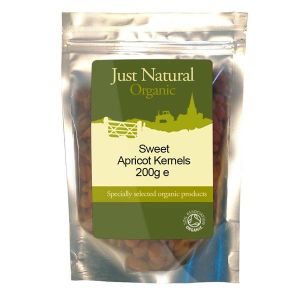 Just Natural Organic Sweet Apricot Kernels 200g