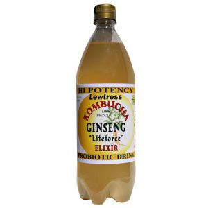 Lewtress Kombucha Original Drink Ginseng 1 litre